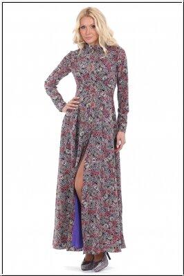 платье с принтом Пикариэлло