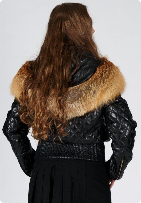 Зимние кожаные куртки женские - Все о.