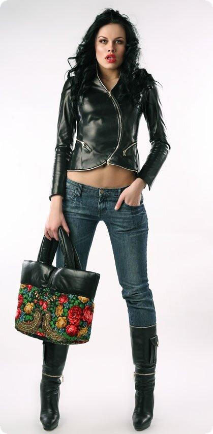 Кожаная куртка весна 2012 h201 кожаные