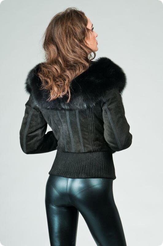 Куртка b112 зимние кожаные куртки