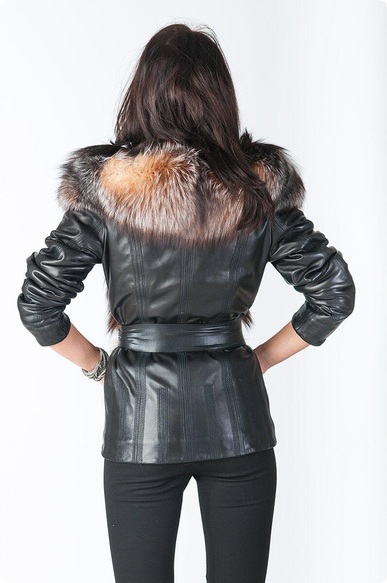 Зимняя Женская Одежда Из Кожи