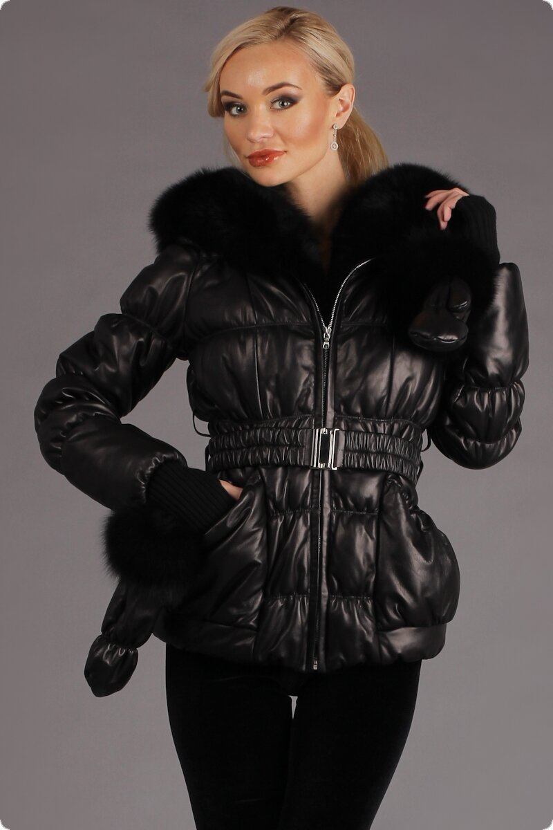 Кожаные Зимние Куртки С Мехом